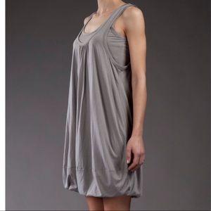 MARC JACOBS pewter bubble dress